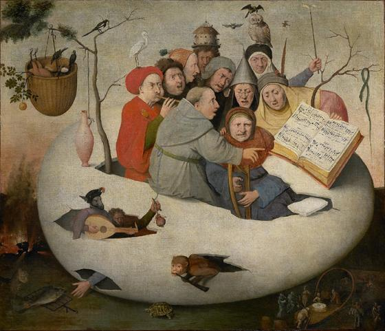 Concert in the Egg - after Hieronymus Bosch